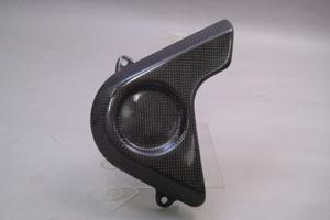 CBR929RR(00~01年) フロントスプロケットカバー 平織りカーボン A-TECH(エーテック)