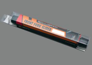 CBR954(02~03年) フロントフォークスライダー 黒 A-TECH(エーテック)