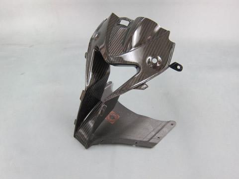 BMW S1000RR(10年~) アッパーカウルラムダクト FRP/黒 A-TECH(エーテック)