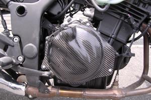 【最安値】 Ninja250R(ニンジャ)02~08年 クラッチカバー ドライカーボン塗装なし A-TECH(エーテック), アウトレット一番.:aabbad52 --- construart30.dominiotemporario.com