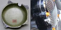 ZRX1200R(01~08年) EG-GUARDセット 綾織ドライカーボン ツヤ有 クリア塗装済 A-TECH(エーテック)