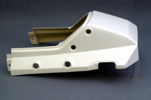 GPZ900R Ninja(ニンジャ)84~02年 シートカウルSTD(ノーマル形状) 綾織カーボン A-TECH(エーテック)