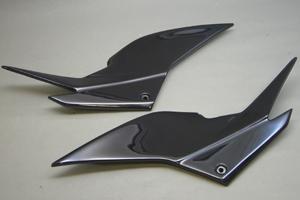 Ninja250R(ニンジャ)08~12年 サイドカバーSTD FRP/黒 A-TECH(エーテック)
