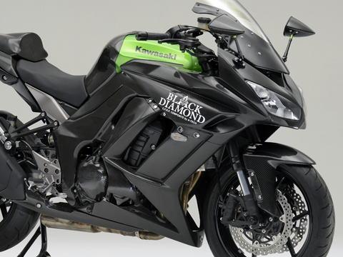 Ninja1000(ニンジャ)11~16年 ストリート用フルカウルSPL3点セット FRP/黒(FB) A-TECH(エーテック)