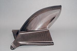 GPZ1100(95~98年) リアフェンダー 平織カーボン A-TECH(エーテック)