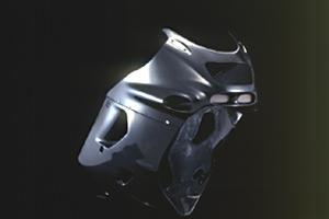 ZZR1100D(93~01年) フルカウル FRP/白 A-TECH(エーテック)
