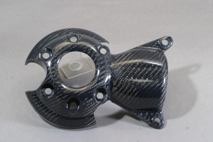 1400GTR(08年~) リアドライブジャフトカバー 平織カーボン A-TECH(エーテック)