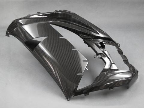 ZX-14R(12年~) サイドカウル左右セット FRP/黒(FB) A-TECH(エーテック)