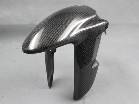 Ninja250(ニンジャ)13~17年 フロントフェンダーSPL FRP/黒(FB) A-TECH(エーテック)