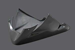 ZX-10R(04~05年) ボトムアンダーカウル カーボンケブラ A-TECH(エーテック)