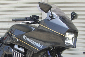 ZRX1200 DAEG(ダエグ)09年~ ハーフカウル用スクリーン ライトスモーク A-TECH(エーテック)
