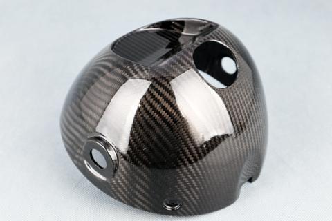 平織ドライカーボン ヘッドライトケース クリア塗装済 A-TECH(エーテック) Z900RS(18年)