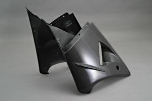 ZX-12R(00~01年) ハーフサイドカウルセット 平織カーボン A-TECH(エーテック)