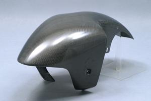 ZX-7R(96~00年) フロントフェンダー 綾織カーボン A-TECH(エーテック)