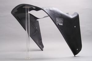 ZX-7R(96~00年) フルカウル専用ラジエターシュラウド 綾織カーボン A-TECH(エーテック)