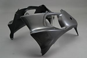 ZZR1200(02年~) ハーフサイドカウルセット 左右セット FRP/白 A-TECH(エーテック)