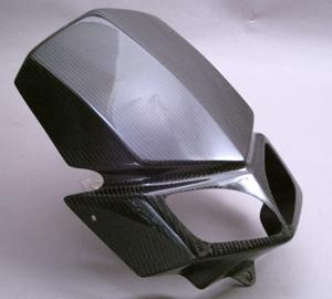 DトラッカーX(D-TRACKER-X)08年~ ビキニカウルSPL FRP/黒(FB) A-TECH(エーテック)