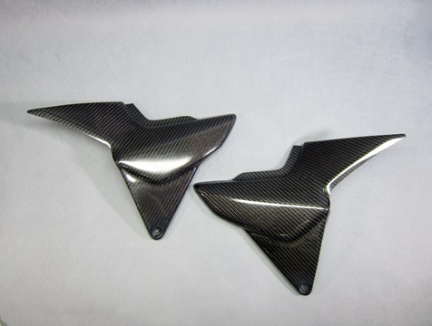 サイドカバーSPL 左右セット FRP/白(FW) A-TECH(エーテック) CB1300SF・SB(14年~)