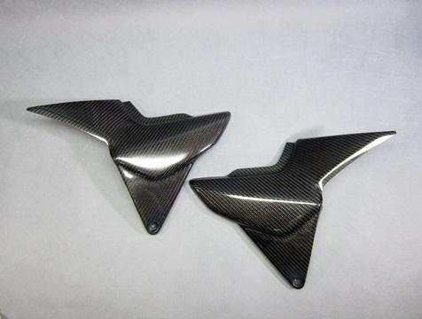サイドカバーSPL 左右セット 綾織カーボン(TC) A-TECH(エーテック) CB1300SF・SB(14年~)