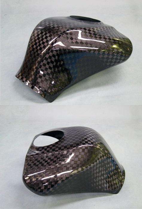 タンクカバー タイプR 開繊ドライカーボン(KDC) A-TECH(エーテック) ZX-10R(16年~)