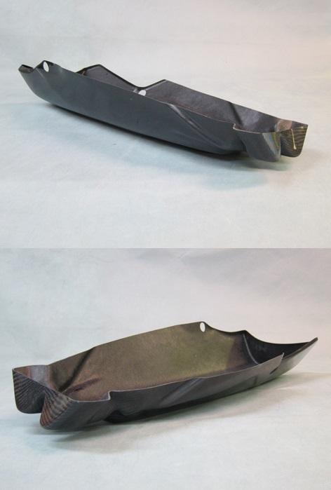 アンダーカウルインナートレー FRP/黒(FB) A-TECH(エーテック) ZX-10R(16年~)