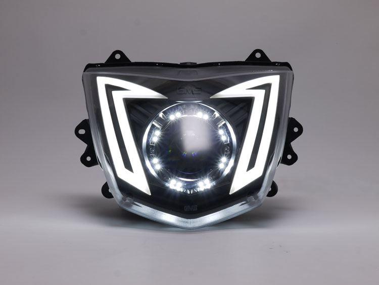 LEDポジション プロジェクター HID M3 ヘッドライトキット GAMMAS シグナスX(CYGNUS-X)(国内仕様1YP/台湾仕様1MS)