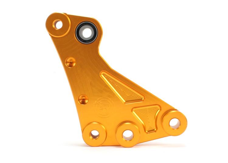 JSM 3cmローダウンサスペンションリンク ブラケット ゴールド ATLAS(アトラス) マジェスティS(MAJESTY)