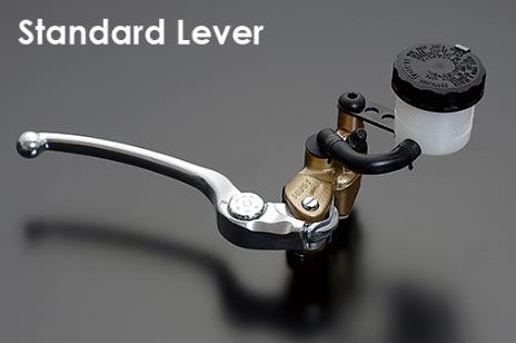 NISSIN ラジアルマスターシリンダー鍛造モデル 17mm シルバースタンダードレバー/ゴールドボディー ADVANTAGE(アドバンテージ)