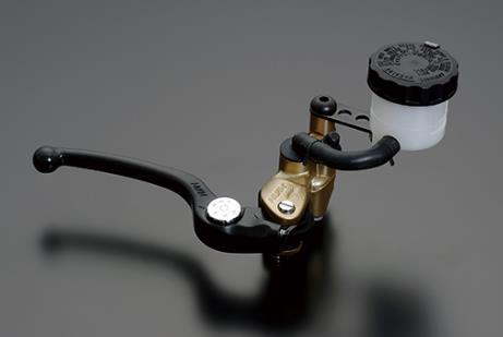 NISSIN ラジアルマスターシリンダー鍛造モデル 19mm ブラックショートレバー/ゴールドボディー ADVANTAGE(アドバンテージ)