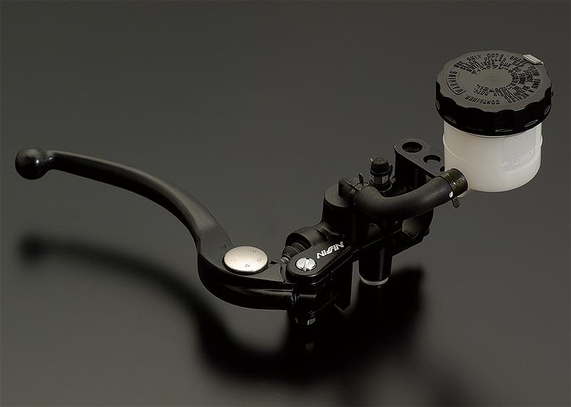 NISSIN ラジアルマスターシリンダー鍛造モデル Φ3/4(Φ19相当) ブラックレバー ADVANTAGE(アドバンテージ)