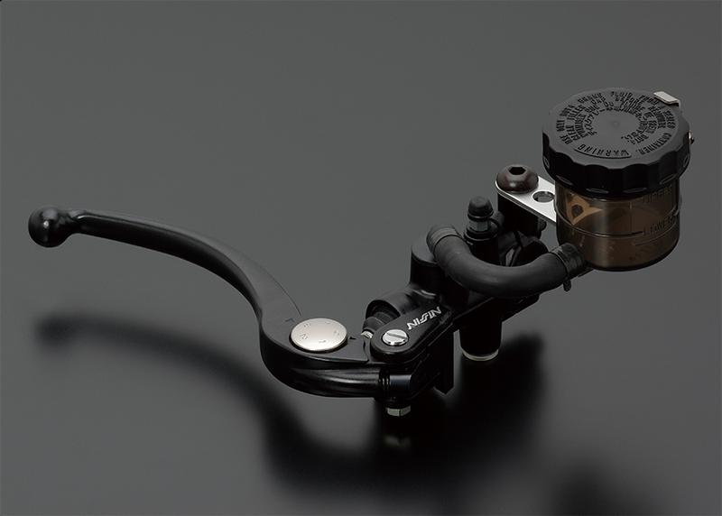 NISSIN ラジアルマスターシリンダー鍛造モデル Φ3/4(Φ19相当) ブラックレバー スモークタンク ADVANTAGE(アドバンテージ)
