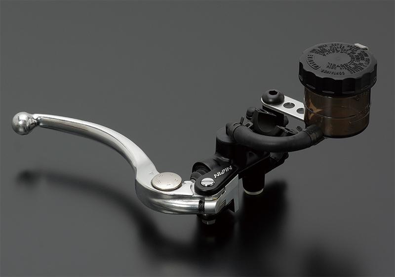 NISSIN ラジアルマスターシリンダー鍛造モデル Φ3/4(Φ19相当) シルバーレバー スモークタンク ADVANTAGE(アドバンテージ)