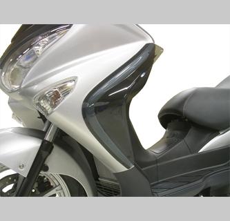 サイドバイザー af(アフ 旭風防) バーグマン200(JBK-CH41A)