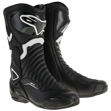 SMX6 レースブーツ ブラック/ホワイト 40/25.5cm アルパインスターズ(alpinestars)