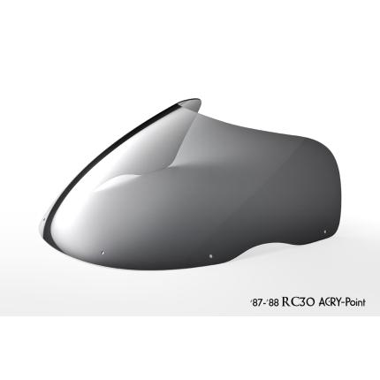 ストリートタイプスクリーン スモーク アクリポイント(ACRY-Point) VFR750R RC30(87~88年)