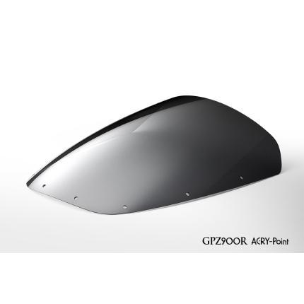 ストリートタイプスクリーン スモーク アクリポイント(ACRY-Point) GPZ900R(84~03年)
