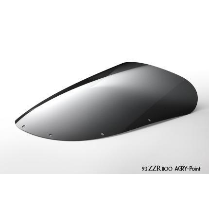 ストリートタイプスクリーン スモーク アクリポイント(ACRY-Point) ZZR1100(93~年)