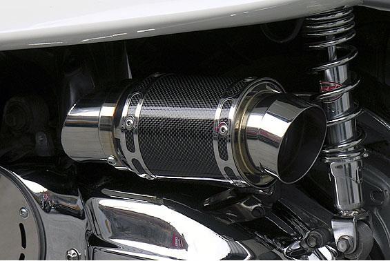 エアクリーナーキットレーシングタイプ ブラックカーボン ASAKURA(浅倉商事) マジェスティ250(MAJESTY)5GM・5SJ