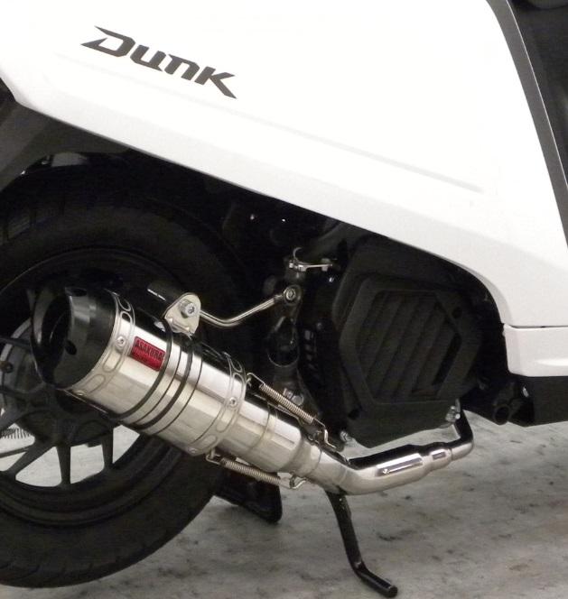 EVOタイプ メタルバージョン ASAKURA(浅倉商事) ダンク(Dunk)AF74 ZZRタイプマフラー