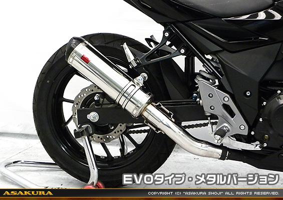 TTRタイプマフラー EVOタイプ メタルバージョン ASAKURA(浅倉商事) GSX250R(2BK-DN11A)