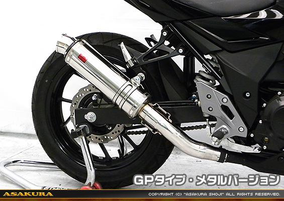 TTRタイプマフラー GPタイプ メタルバージョン ASAKURA(浅倉商事) GSX250R(2BK-DN11A)