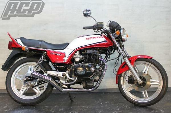 タイプラインステッカー赤/白 ACP(エーシーピー) CB400N 750