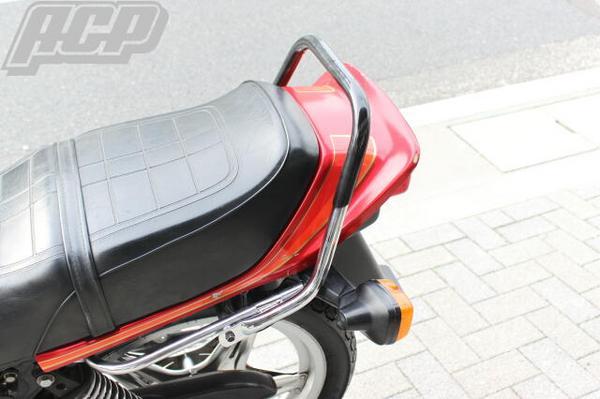 ゴム付きタンデムバー(黒) ACP(エーシーピー) CB400N