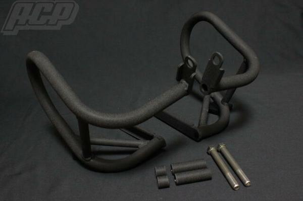 チヂミ塗装エンジンガード(黒) ACP(エーシーピー) GS400