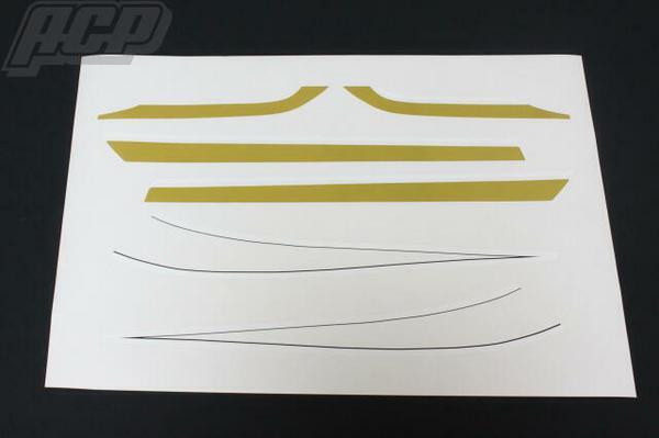 玉虫タイプラインステッカーセット ACP(エーシーピー) Z1