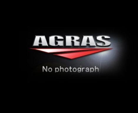 レーシングスライダー ロゴ有 ジュラコン/ホワイト AGRAS(アグラス) Ninja250(ニンジャ)18年
