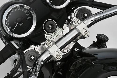 トップブリッジ&ステムセット アッパーブラケットセパレートタイプ AGRAS(アグラス) Z900RS(2BL-ZR900C)