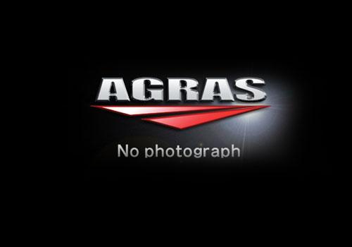 レーシングスライダー フレーム(アルミベース+ジュラコン) ロゴ有 ジュラコン/ホワイト AGRAS(アグラス) KATANA(刀)