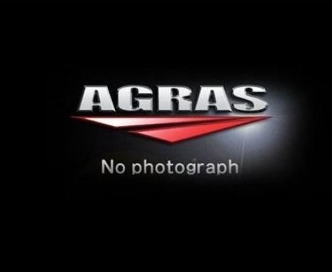 レーシングスライダー ロゴ有 ジュラコン/ホワイト AGRAS(アグラス) Ninja400(ニンジャ400)18年