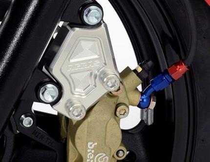 フロントキャリパーサポート ブレンボ4Pキャスト40mmピッチ専用 AGRAS(アグラス) GSR250(JBK-GJ55D)